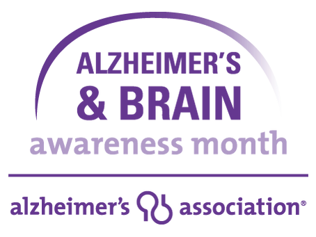 In Honor of National Alzheimer's and Brain Month
