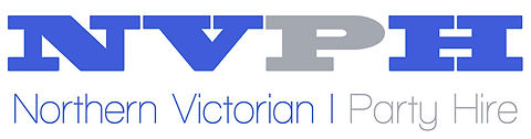NVPH party hire murchison shepparton tatura marquee tables chairs, equipment rental logo