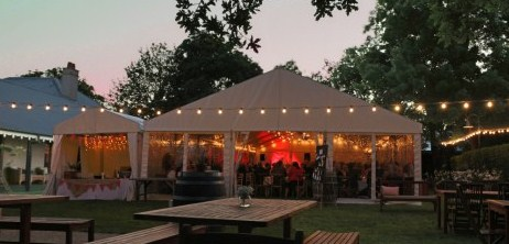 9m x 21m Festoon Lights
