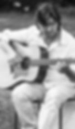 Guitariste pour la cérémonie de mariage. Michel Silvant