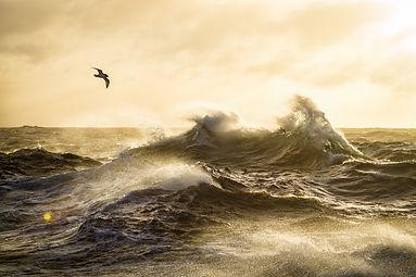 Drake passage wave sunset justin Hofman