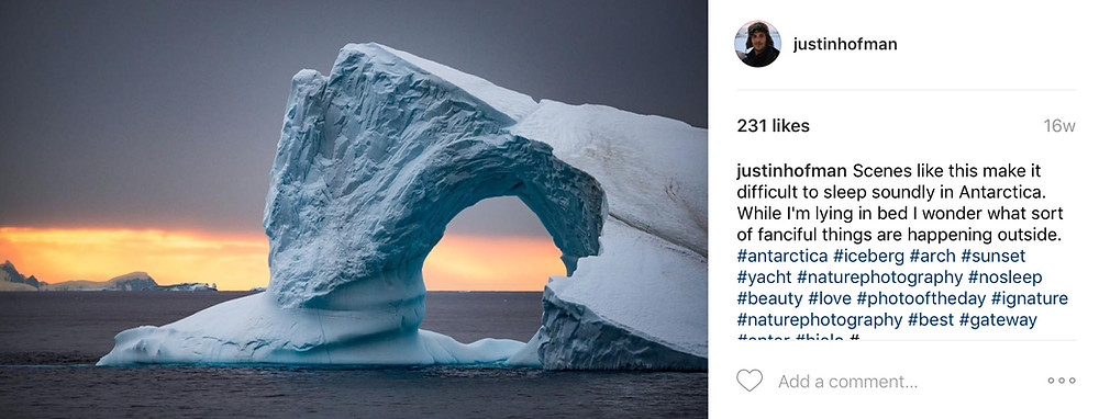 Justin Hofman Instagram