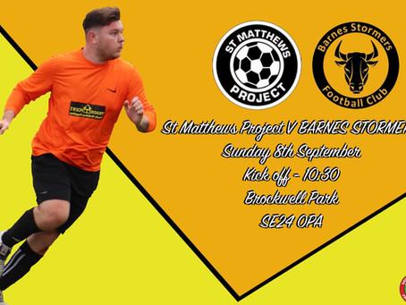 Match preview | St Matthews Project
