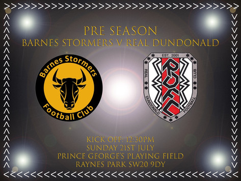 Match Preview | Real Dundonald Fc