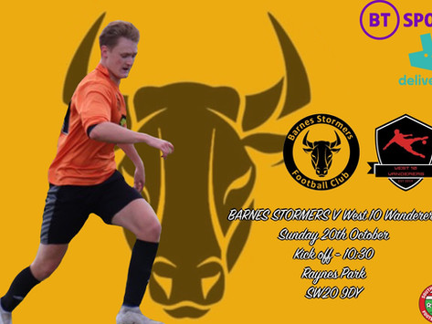 Match Preview | West 10 Wanderers