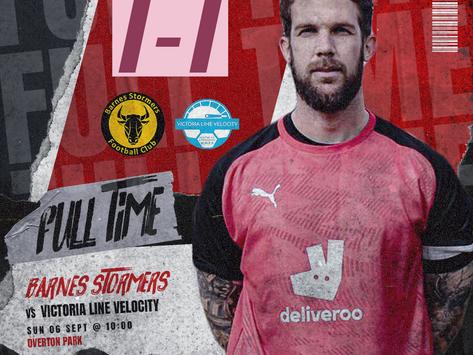 Match Report | Barnes 1 Victoria Line Velocity 1