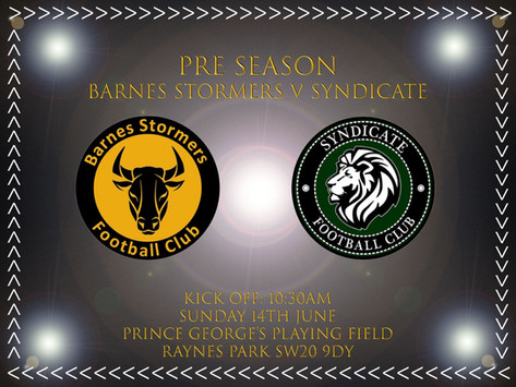 Match preview | Syndicate Fc