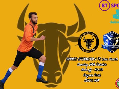 Match Preview | FC Lion Hearts