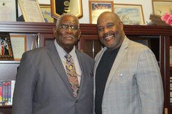 Our Pastor and Bishop Marvin Winans