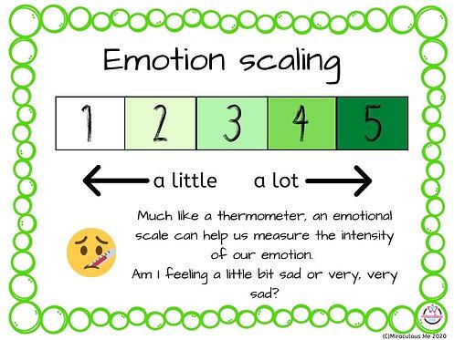 Emotion scaling poster