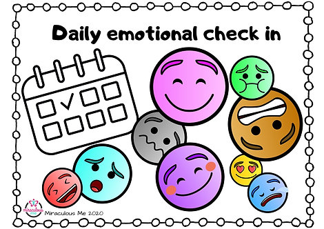 Daily emotional check in