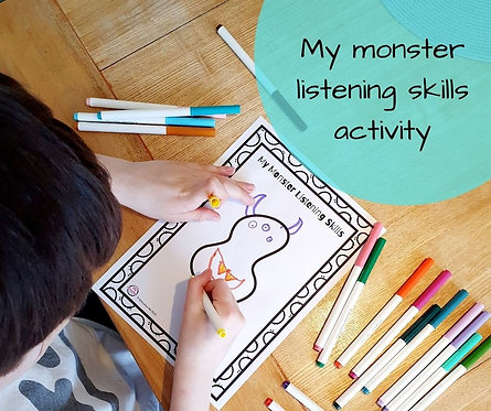 My monster listening skills
