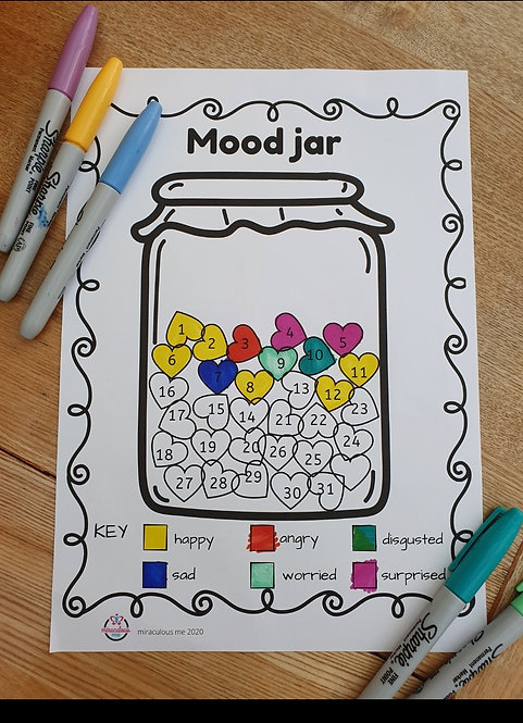 Mood Jar Tracker