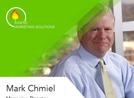Dynamic Marketer Mark Chmiel Joins Startup