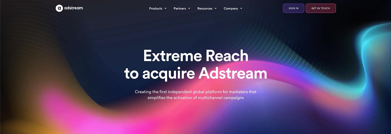 Adstream website