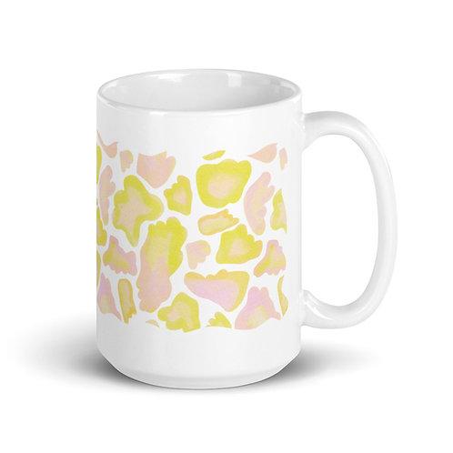 Peach Blobs Mug
