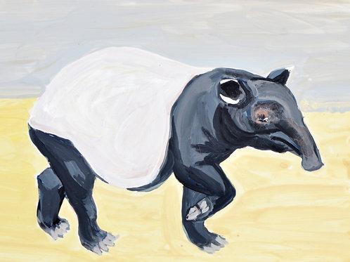 """""""I Feel Sassy (Malayan Tapir)"""" PRINT"""