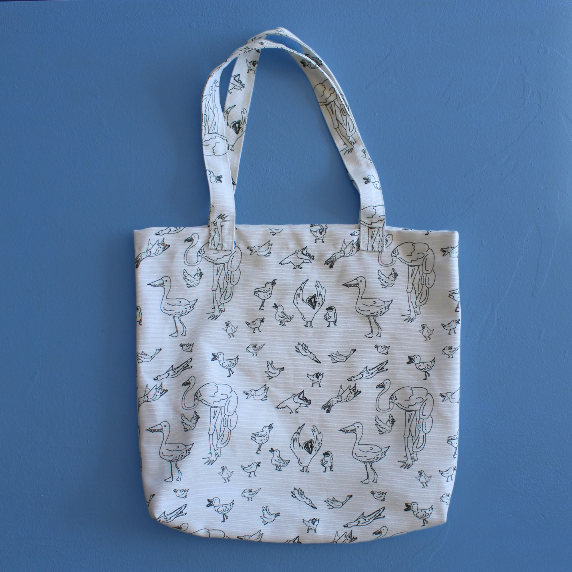 Birds with Teeth Tote!