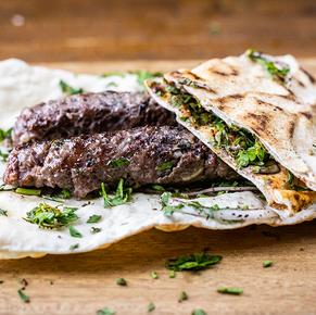 Kabab (kafta) de Cordeiro  .38