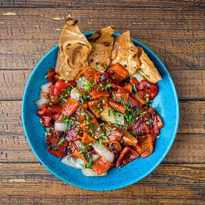 Salada Lavash de Pimentão  .15