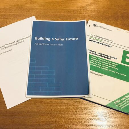 Building a Safer Future - next steps