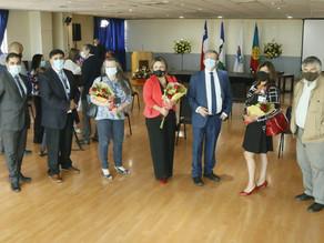 Con orgullo y emoción representantes de la salud recibieron reconocimiento como Ciudadanos Ilustres