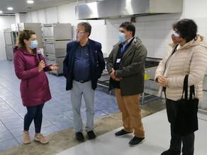 Alcalde Paredes ofrece Arena Puerto Montt a autoridades regionales para posible hospital de campaña