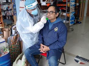 Atención Primaria de Salud aumenta a 120 la toma de PCR por día como búsqueda activa de casos