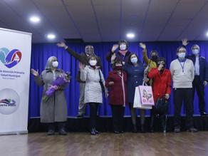 Salud Primaria reconoce a 10 de sus funcionarios que se acogen a retiro