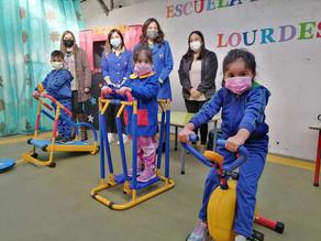 Salud Primaria fomenta la actividad física en niños y niñas