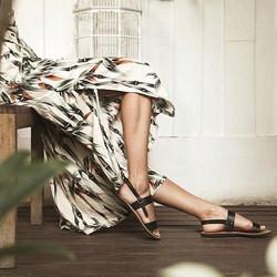 Black Fasis Sandals