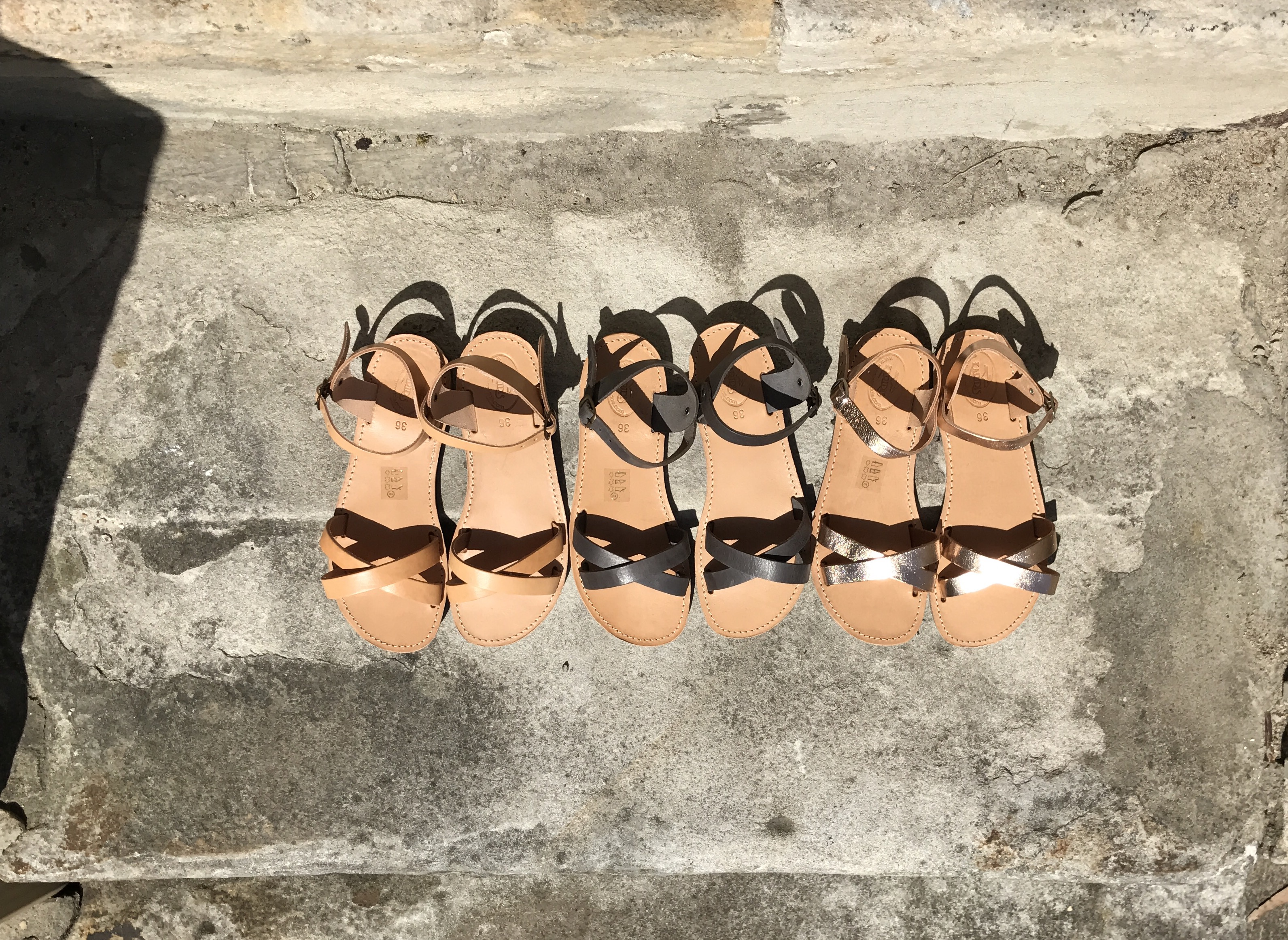 Eris Greek Sandals