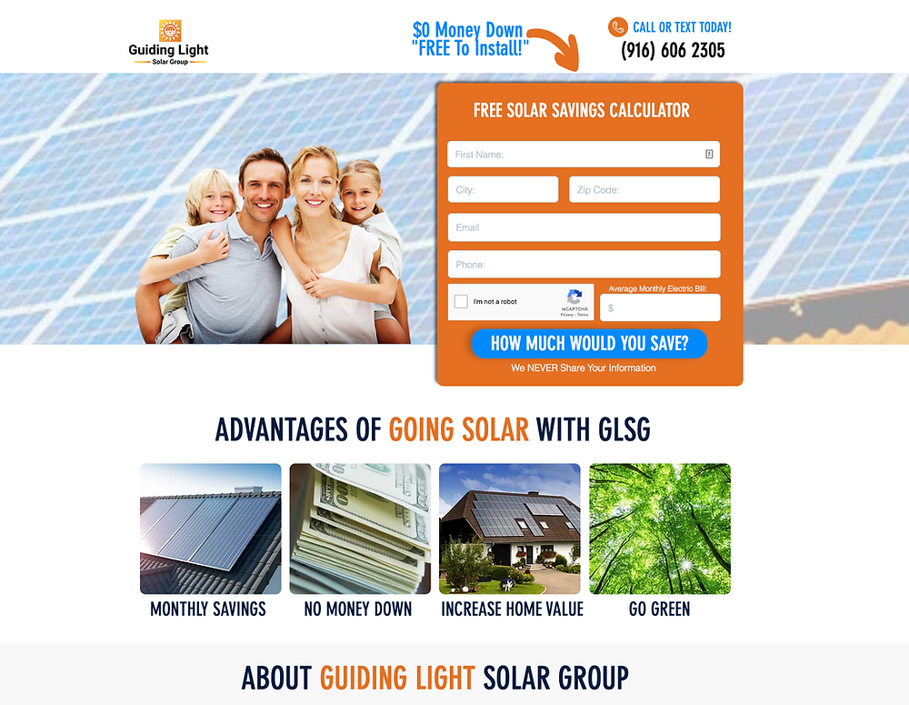 Lead Generation for Solar