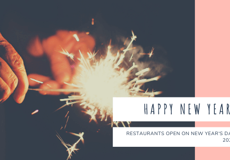Restaurants open on New Year's Day 2021