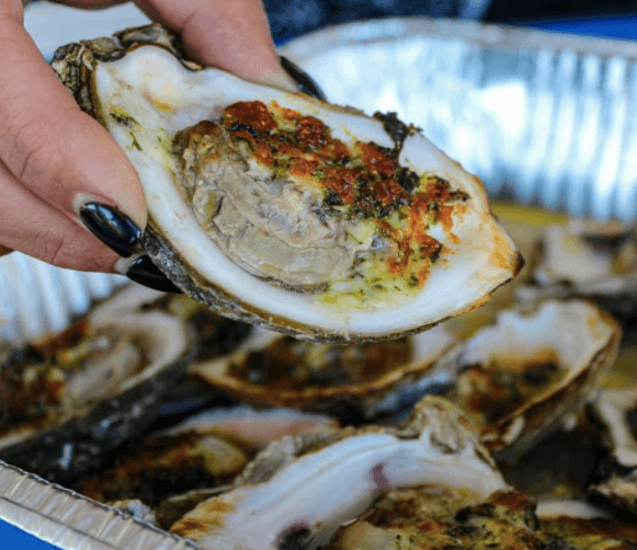 Oysters at Melbourne Seafood Station