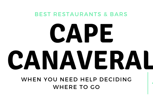 BEST IN THE SPACE COAST: CAPE CANAVERAL, FL Restaurants, Bars & Live music