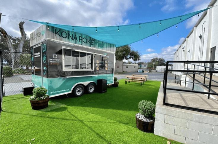 Kona Poke Food Truck Indialantic