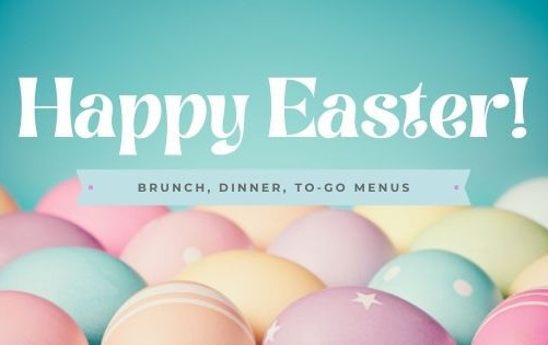 Easter Brunch, Easter Dinner or Easter To-Go! Top places for Easter in the Space Coast & Vero Beach