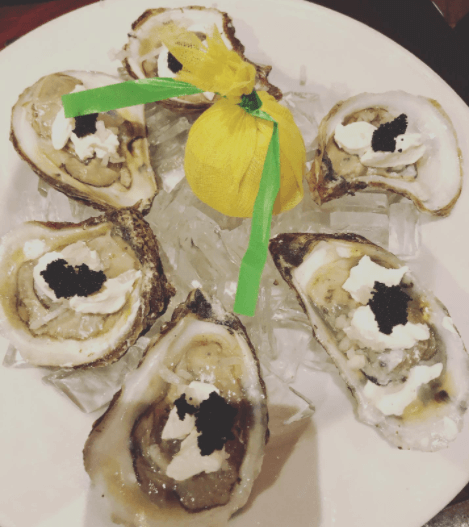 Oysters near me in Vero Beach at Polo Grill