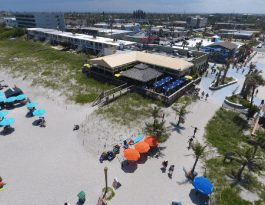 Grab lunch at the beach at Coconuts in Cocoa Beach