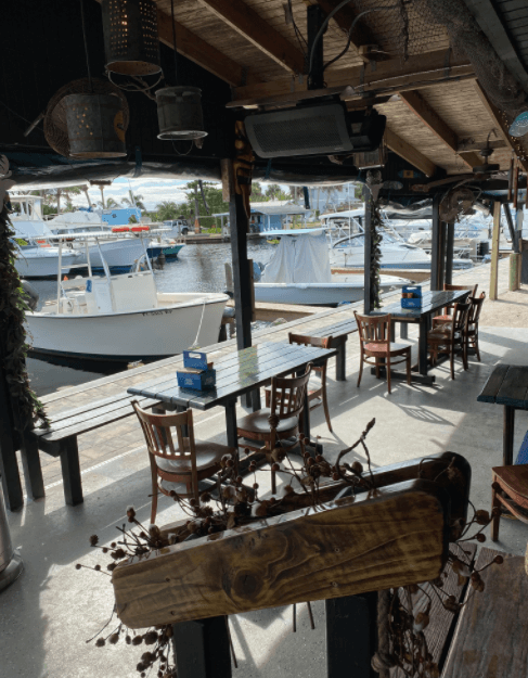 Outriggers Waterfront Bar in Micco FL