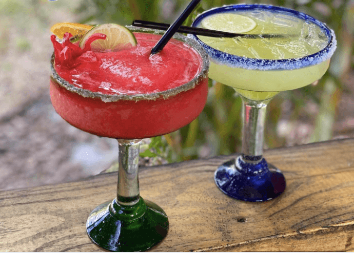 Grab a margarita at lunch at El Leoncito, Titusville