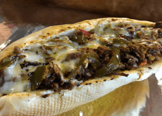 Cheesesteak from Straight Outta Philly Down the Shore