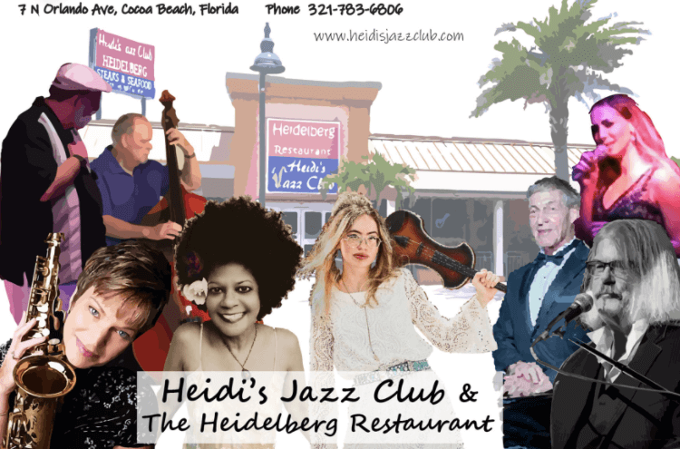 So much nightlife at Heidi's Jazz Club