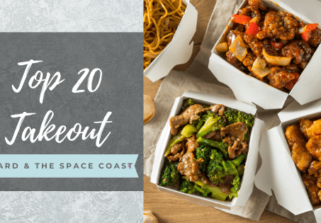 20 Top Takeout Restaurants Near Me: Brevard & the Space Coast