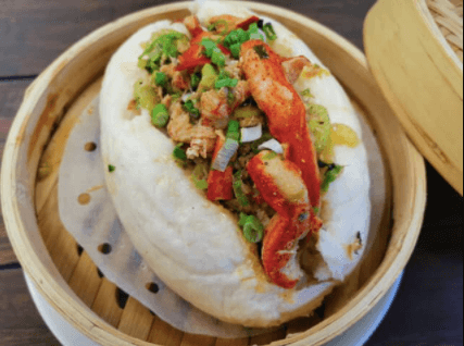 Red Ginger at Melbourne Square Mall: Butter Poached Lobster Roll