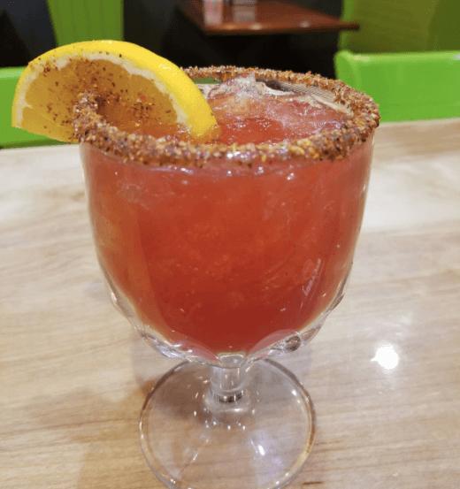 Margarita at El Mezcalito Mexican Grill.png