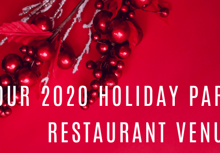Need a restaurant for a holiday party? We've got you covered!