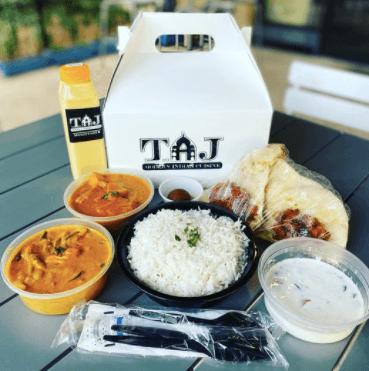 Taj Indian Food to go in Melbourne (Viera)