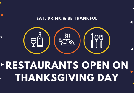 Restaurants Open on Thanksgiving Day 2020